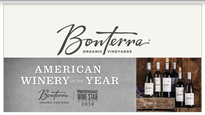 Bonterra Vineyards Cabernet Sauvignon 2015 750ml